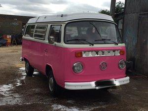 1973 VW campervan RHD T2 Westfalia bay window For Sale