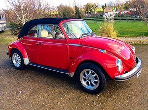 1974 VW BEETLE 1303S KARMANN CABRIOLET - SUPERB - PX SOLD