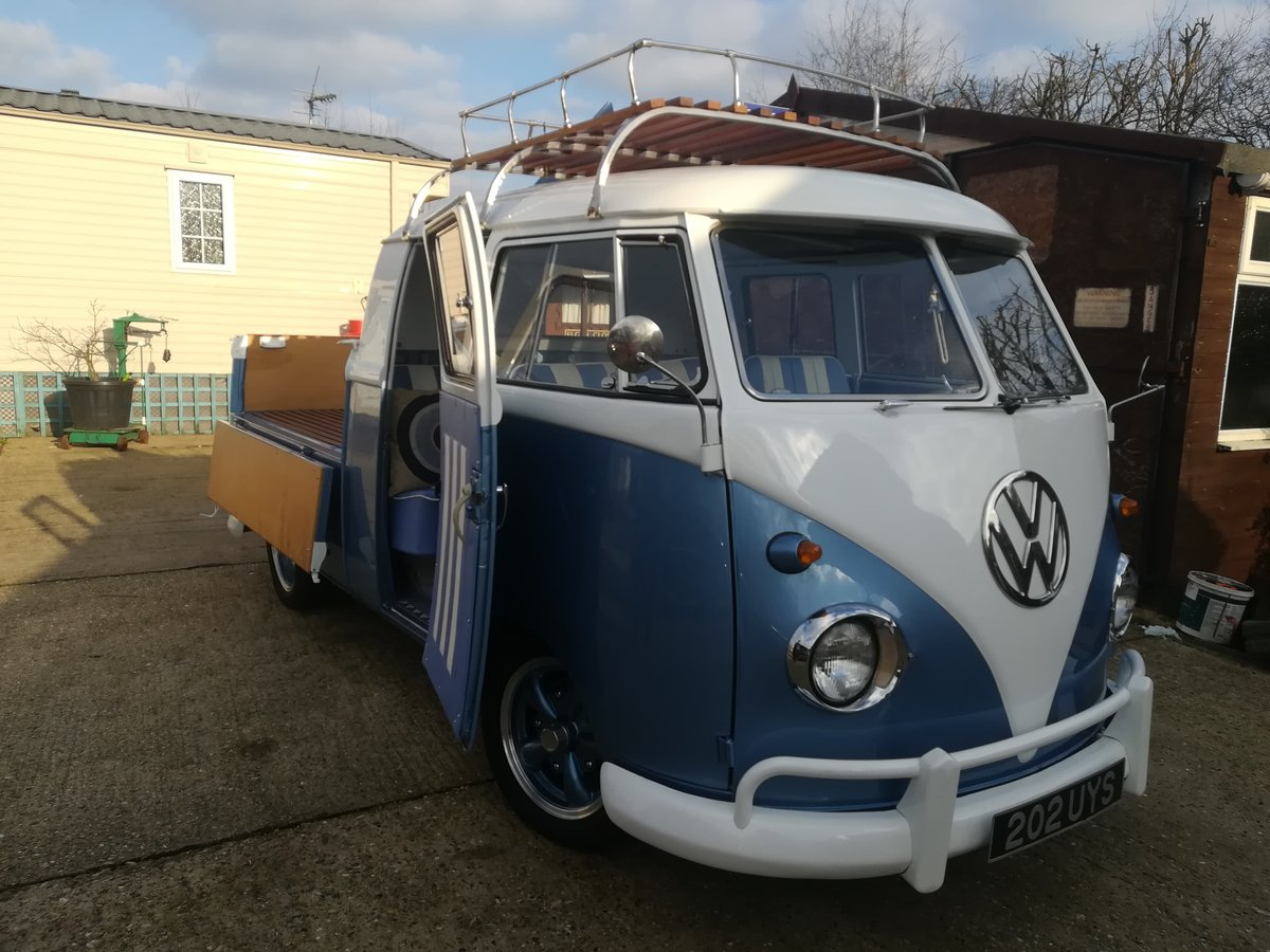 1962 vw crewcab truck fully restored For Sale (picture 1 of 6)
