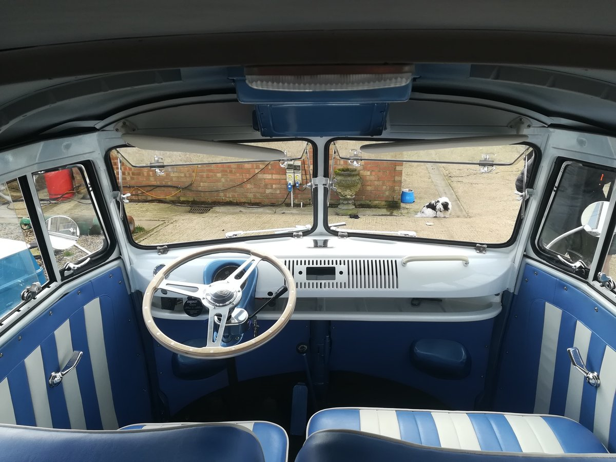 1962 vw crewcab truck fully restored For Sale (picture 2 of 6)