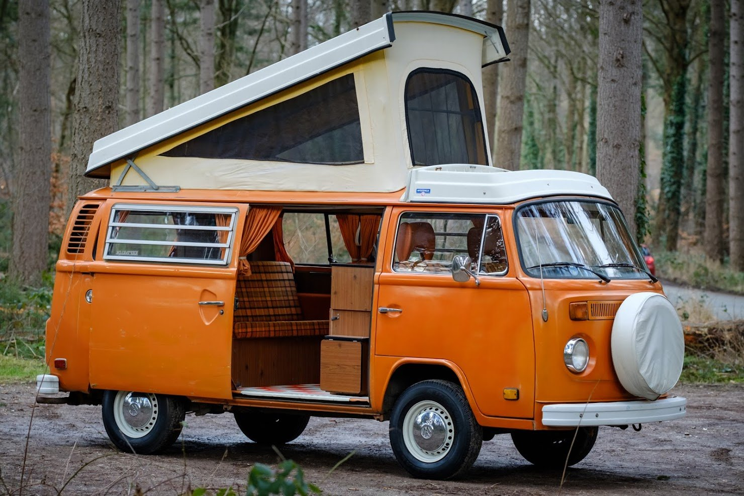 1975 Volkswagen T2B Westfalia, VW Westfalia, T2B Camper SOLD (picture 1 of 6)