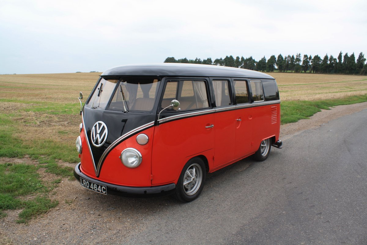1965 VW Split Screen Camper Van. Right Hand Drive - Restored For Sale (picture 1 of 6)