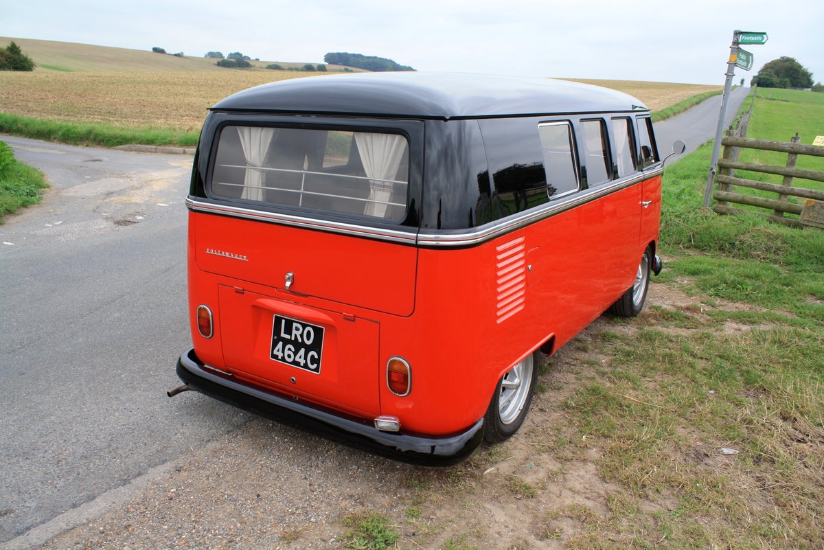 1965 VW Split Screen Camper Van. Right Hand Drive - Restored For Sale (picture 3 of 6)