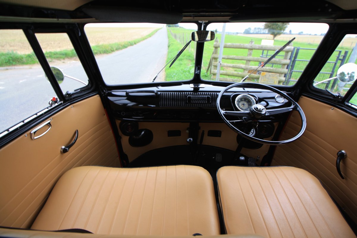 1965 VW Split Screen Camper Van. Right Hand Drive - Restored For Sale (picture 4 of 6)