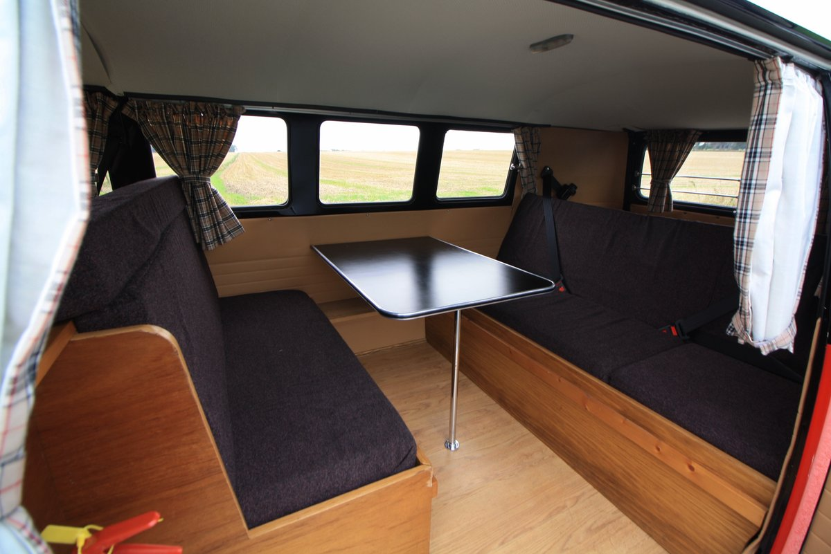 1967 1965 VW Split Screen Camper Van. Right Hand Drive - Restored For Sale (picture 4 of 6)