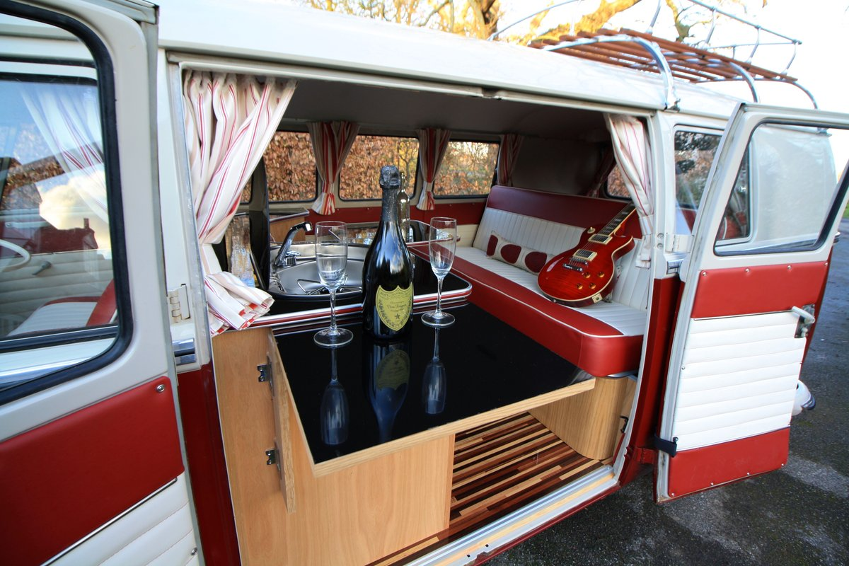 1966 VW Split Screen Camper Van – German Built & Factory RHD For Sale (picture 4 of 6)