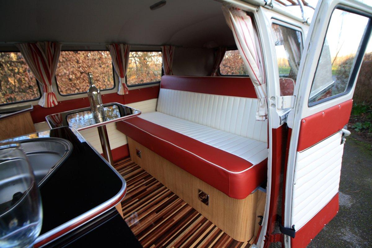 1966 VW Split Screen Camper Van – German Built & Factory RHD For Sale (picture 5 of 6)
