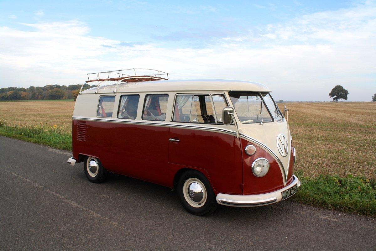 1966 VW Split Screen Camper Van – German Built & Factory RHD For Sale (picture 1 of 6)