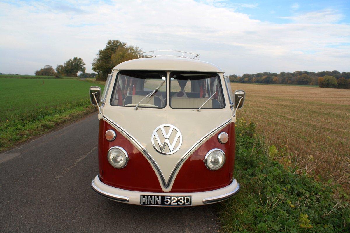 1966 VW Split Screen Camper Van – German Built & Factory RHD For Sale (picture 2 of 6)