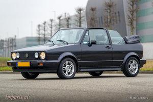 1991 Excellent Volkswagen Golf 1.8 cabriolet LHD