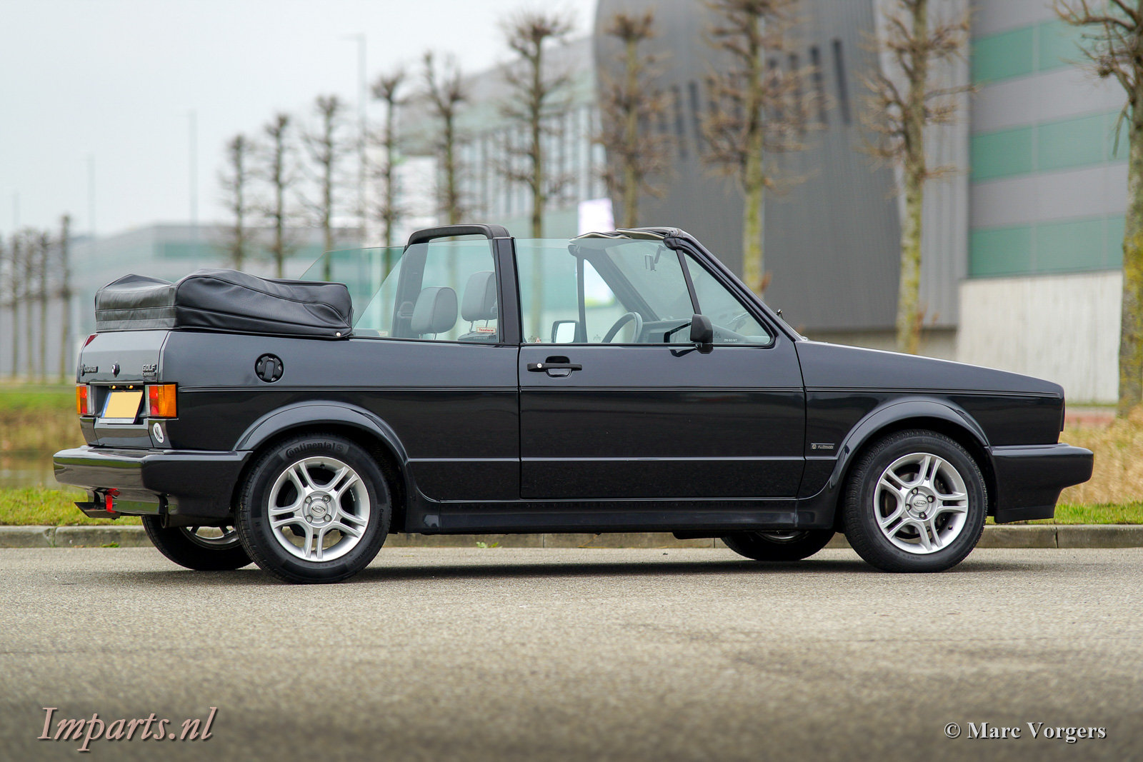 1991 Excellent Volkswagen Golf 1.8 cabriolet LHD For Sale (picture 4 of 6)