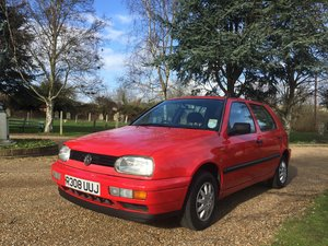 1997 Classic Volkswagen Golf MK3 1.4 L 5dr 45000 miles For Sale