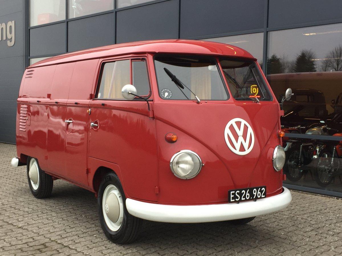 1962 Volkswagen T1 1.3 Van  For Sale (picture 1 of 6)