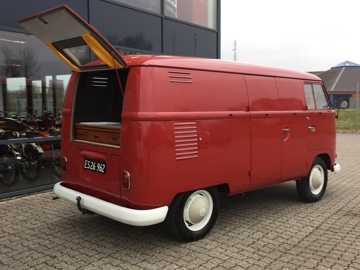 1962 Volkswagen T1 1.3 Van  For Sale (picture 3 of 6)