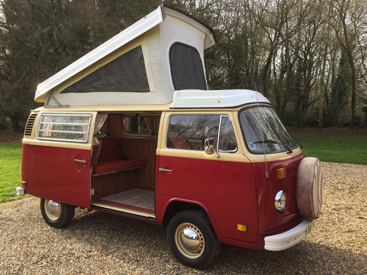 TYPE 2 1978 VOLKSWAGEN LATE BAY WESTFALIA CAMPER For Sale (picture 1 of 6)