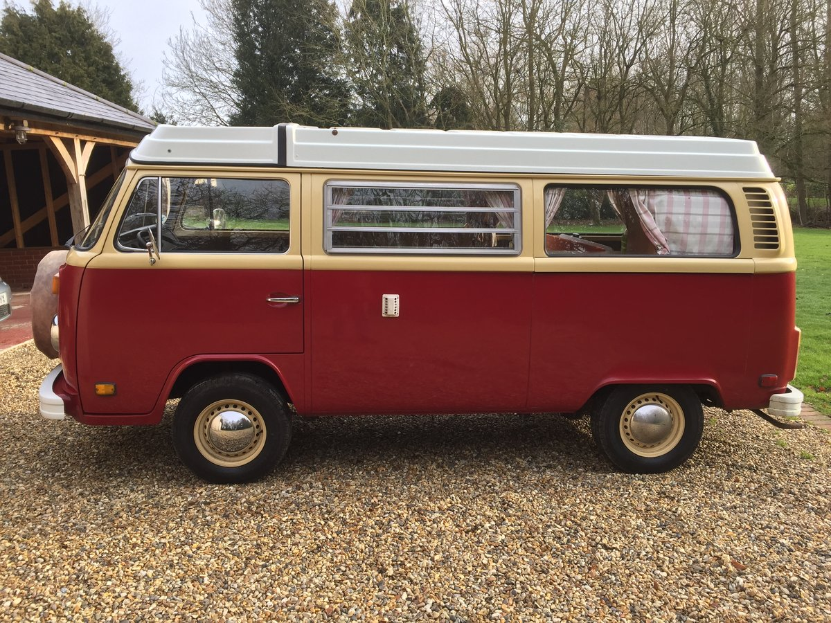 TYPE 2 1978 VOLKSWAGEN LATE BAY WESTFALIA CAMPER For Sale (picture 2 of 6)