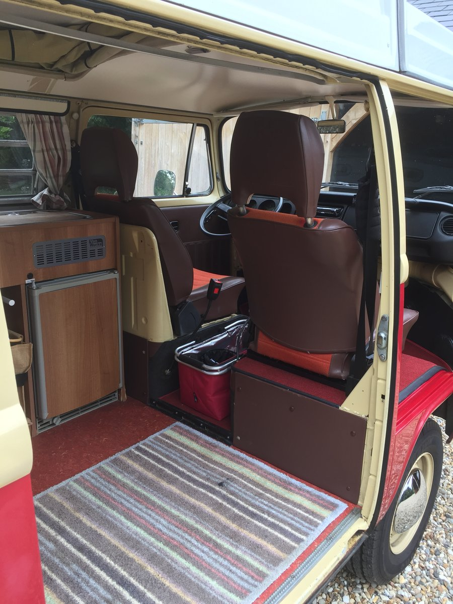 TYPE 2 1978 VOLKSWAGEN LATE BAY WESTFALIA CAMPER For Sale (picture 4 of 6)