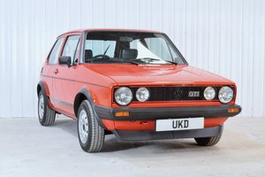 VW VOLKSWAGEN GOLF MK1 GTI 1.8 3DR RED 1983  SOLD