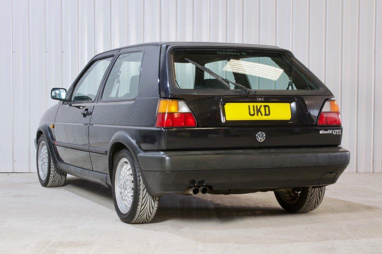 VW VOLKSWAGEN GOLF MK2 GTI 1.8 8V 3DR BLACK 1991  SOLD (picture 4 of 6)