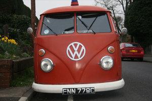 1965 ex german split screen fire truck For Sale
