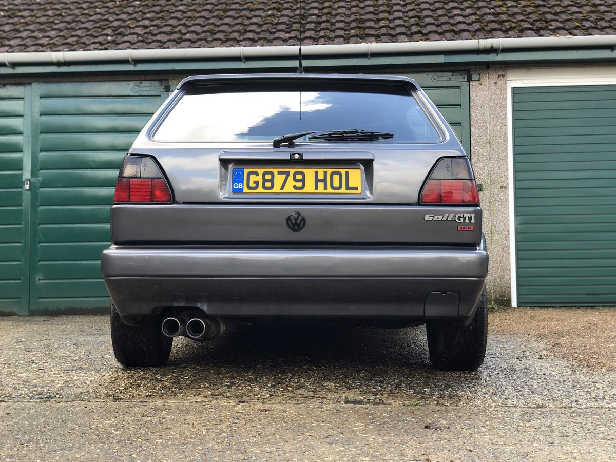1990 Mk2 Golf GTi 6v 3-door For Sale (picture 3 of 6)
