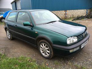 1997 Golf mk3 gti 3 door  unmosleted bags of service For Sale