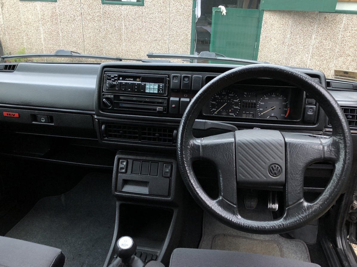 1990 Mk2 Golf GTi 6v 3-door For Sale (picture 6 of 6)