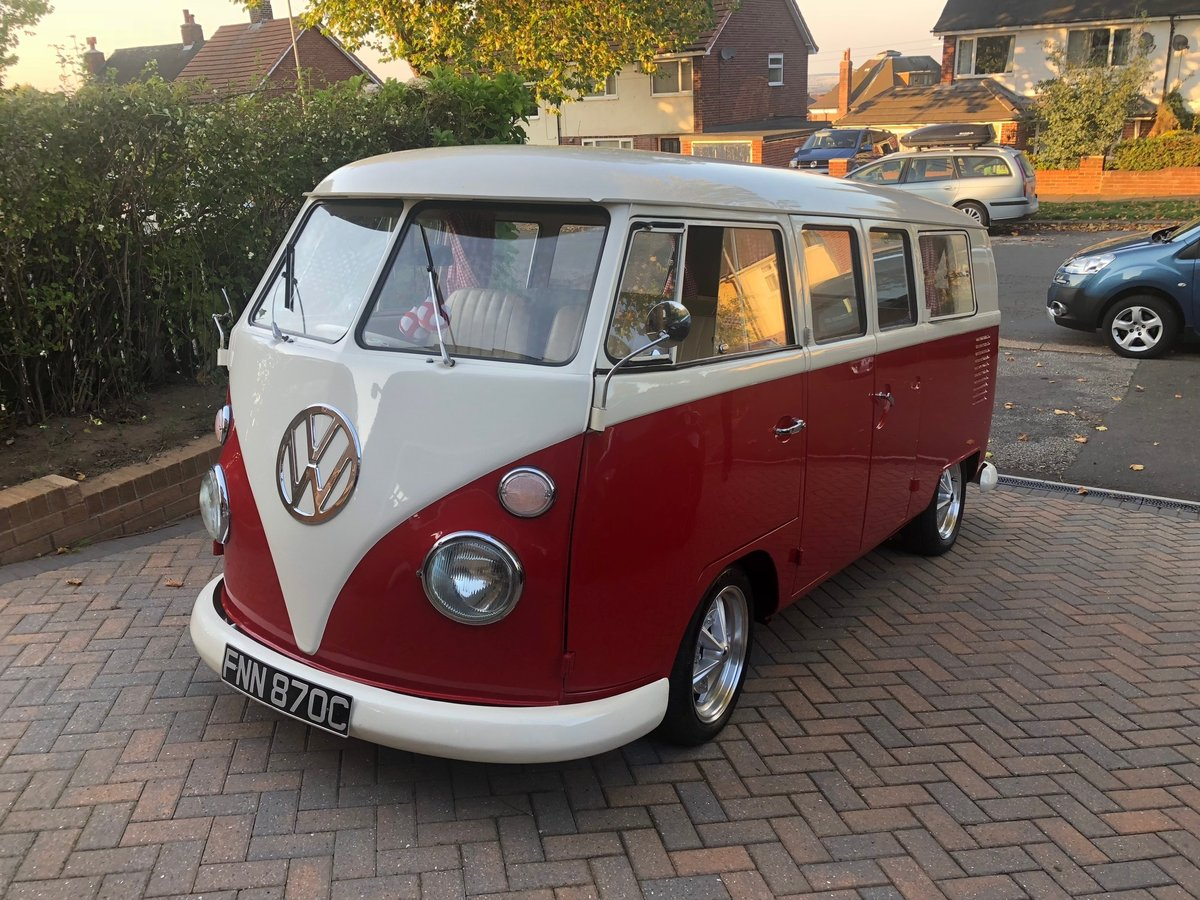 1965 Splitscreen Camper RHD For Sale (picture 1 of 6)