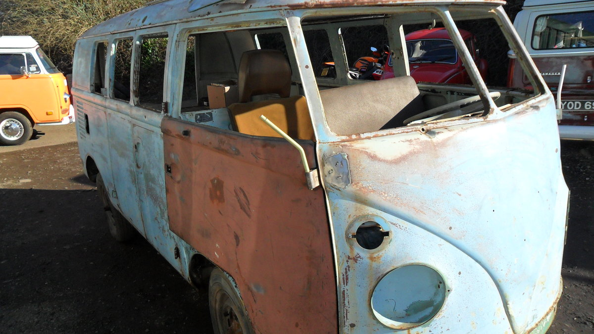 FOR SALE RARE 1963 SUBHATCH SPLITTY CAMPER VAN For Sale (picture 1 of 6)