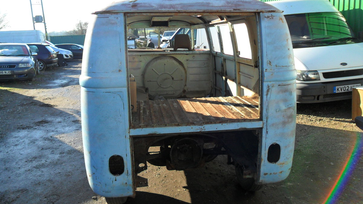 FOR SALE RARE 1963 SUBHATCH SPLITTY CAMPER VAN For Sale (picture 2 of 6)