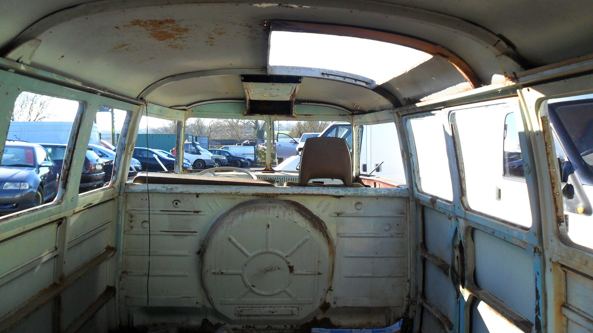 FOR SALE RARE 1963 SUBHATCH SPLITTY CAMPER VAN For Sale (picture 3 of 6)