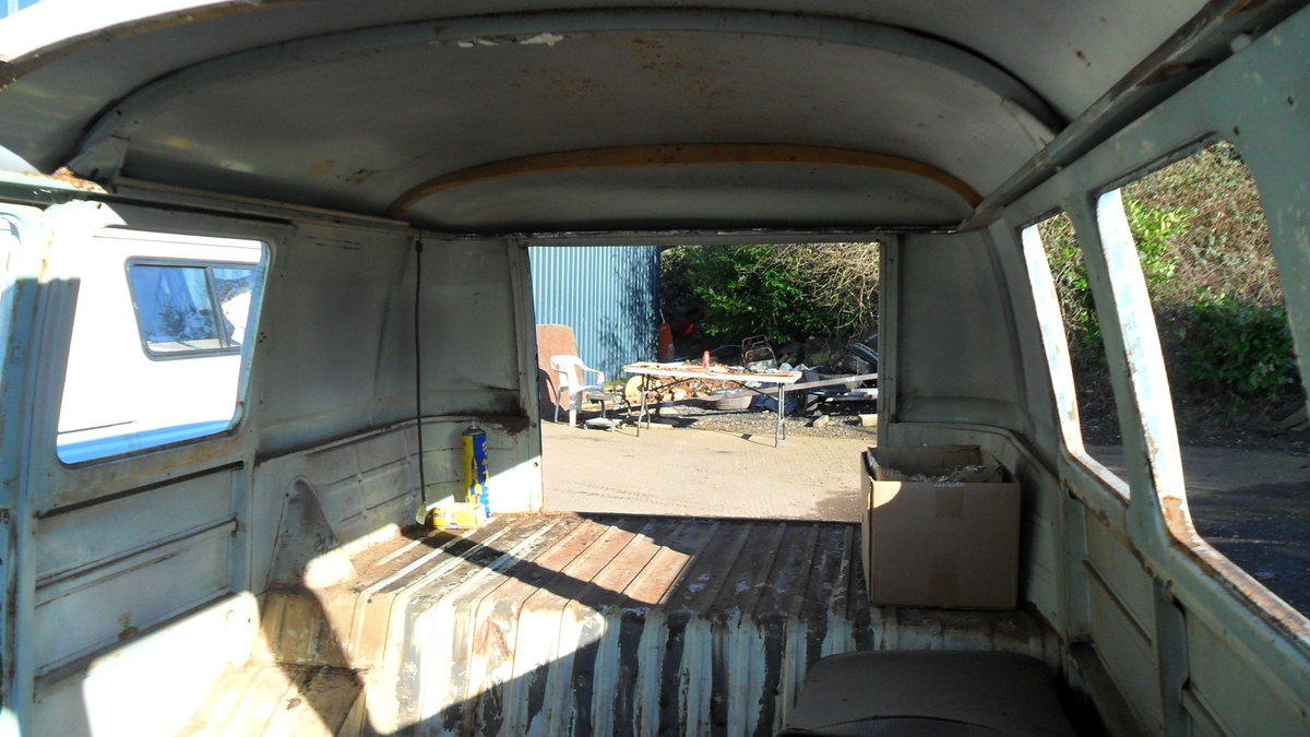 FOR SALE RARE 1963 SUBHATCH SPLITTY CAMPER VAN For Sale (picture 4 of 6)