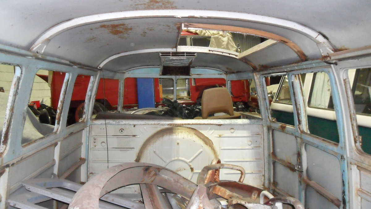 FOR SALE RARE 1963 SUBHATCH SPLITTY CAMPER VAN For Sale (picture 6 of 6)