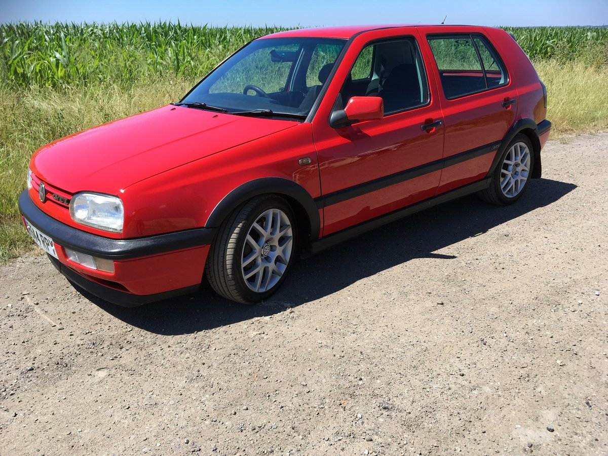 1998 Vw GOLF GTI .ac very clean with lots of service For Sale (picture 1 of 6)