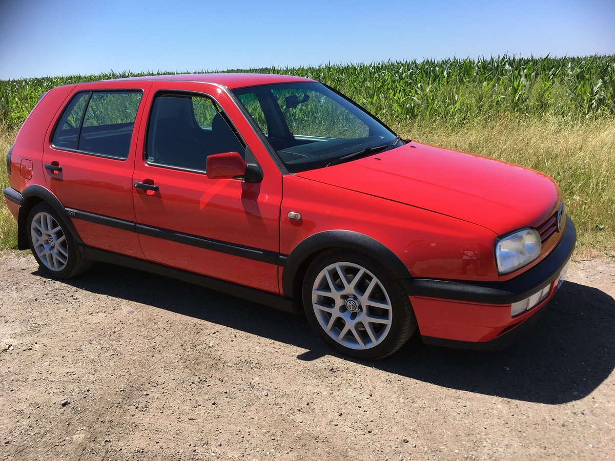 1998 Vw GOLF GTI .ac very clean with lots of service For Sale (picture 3 of 6)