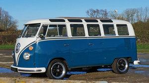 1968 1967 Volkswagen 21 Window Samba Deluxe For Sale
