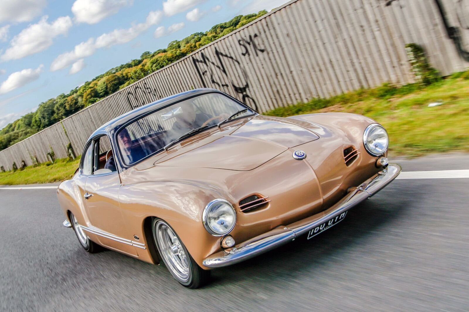 1957 Lowlight Karmann Ghia - 100% Fully Restored For Sale (picture 1 of 6)