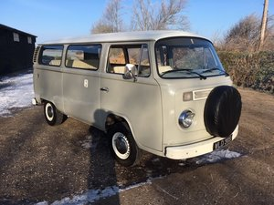 1977 VW Bay Window Campervan 2.0l - Vintage Grey For Sale