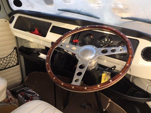 1977 VW Bay Window Campervan 2.0l - Vintage Grey For Sale (picture 4 of 6)