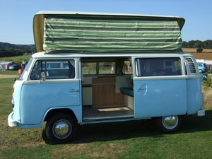 1979 Bay Window 4 Berth Devon Camper For Sale