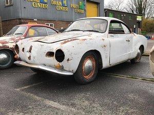 1959 Karmann Ghia Lowlight - Project For Sale