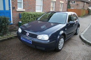2001 VW Golf MkIV 1.6 SE Automatic 5 Door With Just 31k Miles SOLD