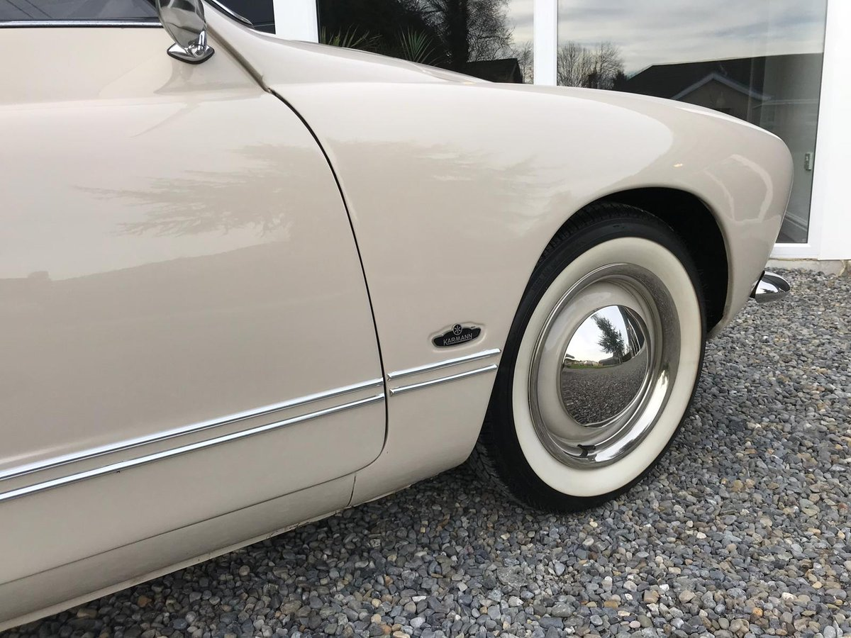 Beautifully Restored 1968 Volkswagen Karmann Ghia For Sale (picture 3 of 6)
