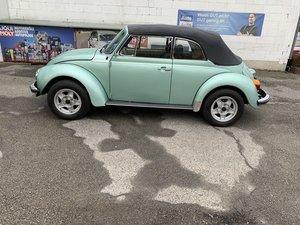 1978 VW Kaefer Beetle 1303 LS Cabrio PORSCHE PAINT For Sale