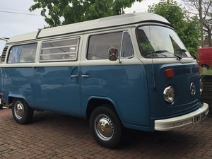 f8ebe55b22 Restored 1973 VW Campervan LHD