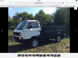 1988 Vw t25 syncro pickup very rare  RHD For Sale