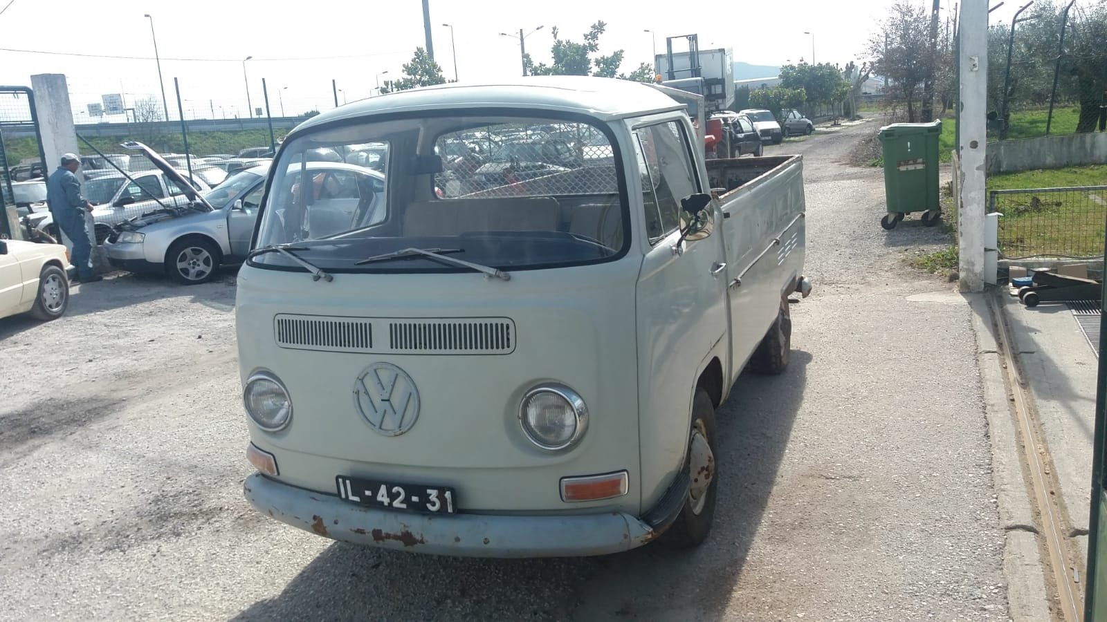 1969 VW T2 ORIGINAL PICK UP 53000 KMS For Sale (picture 1 of 6)