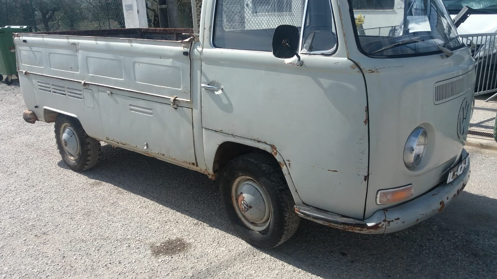 1969 VW T2 ORIGINAL PICK UP 53000 KMS For Sale (picture 3 of 6)