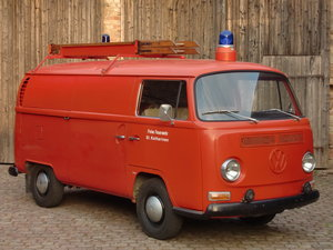 VW type 2 German fire brigade/fighting vehicle LHD
