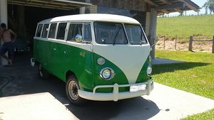 Brazilian VW camper bus 1975